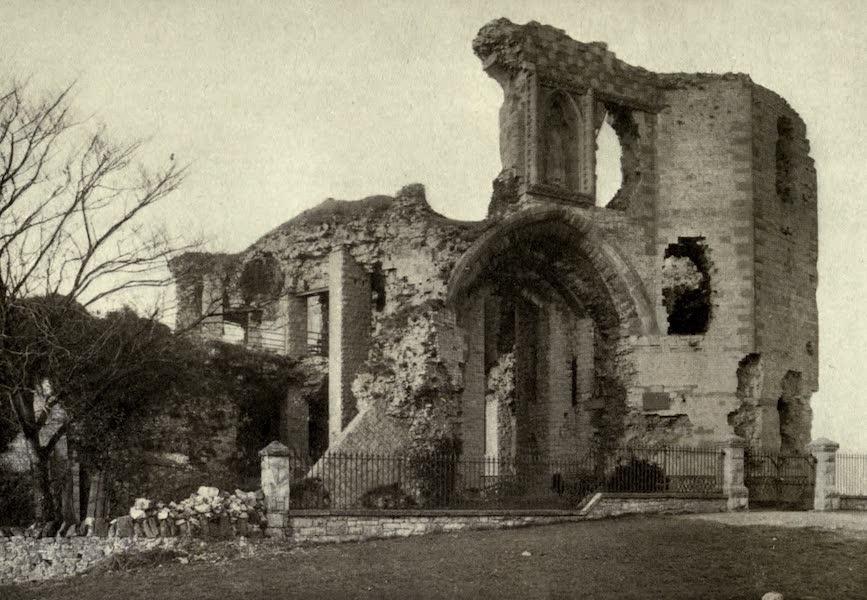 On Old-World Highways - Denbigh Castle-the Entrance and Keep (1914)