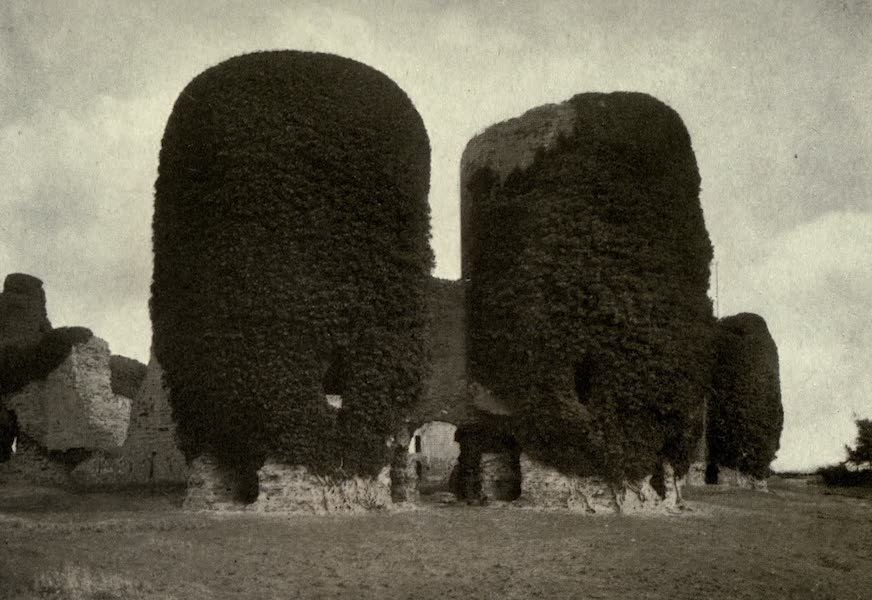 On Old-World Highways - Gate Towers Rhuddlan Castle, North Wales (1914)