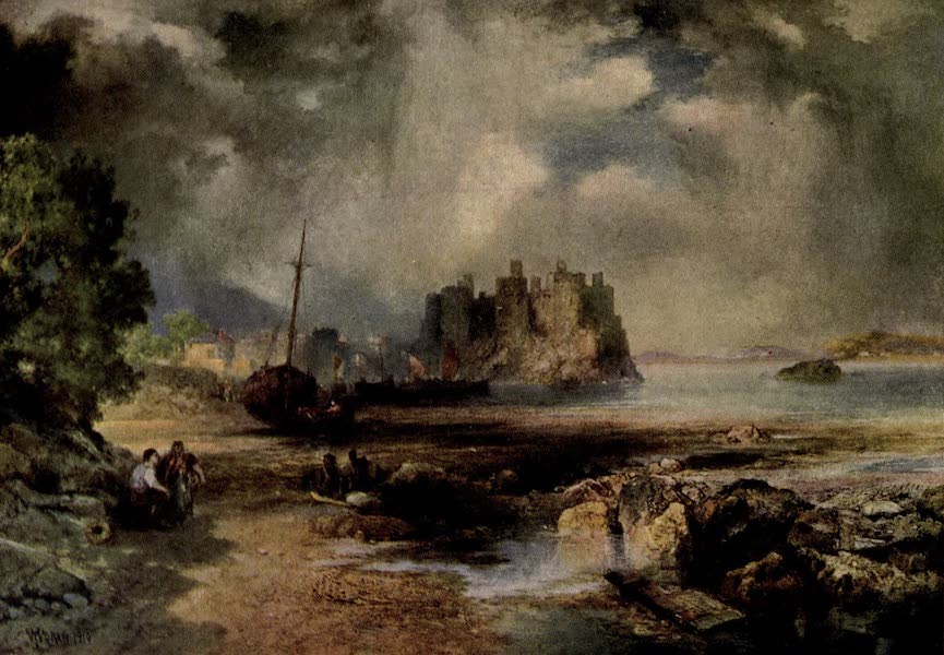 On Old-World Highways - Conway Castle, North Wales (1914)