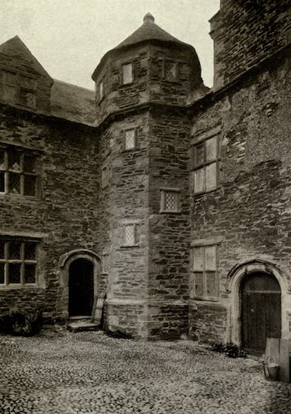 On Old-World Highways - Inner Court, Plas Mawr, Conway (1914)