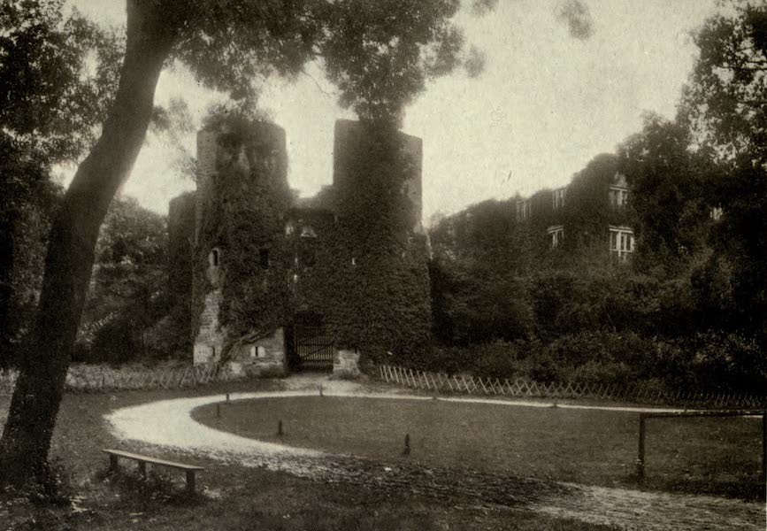 On Old-World Highways - Berry Pomeroy Castle, Entrance Towers (1914)
