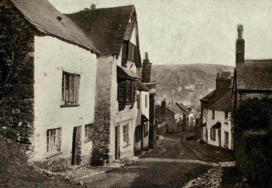 On Old-World Highways - A Street in East Looe-cornwall (1914)