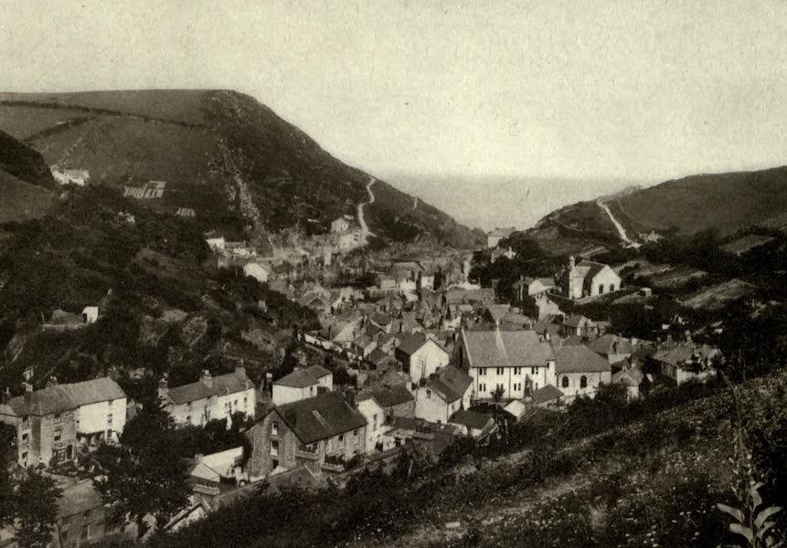 On Old-World Highways - Polperro, Cornwall-looking Toward the Sea (1914)