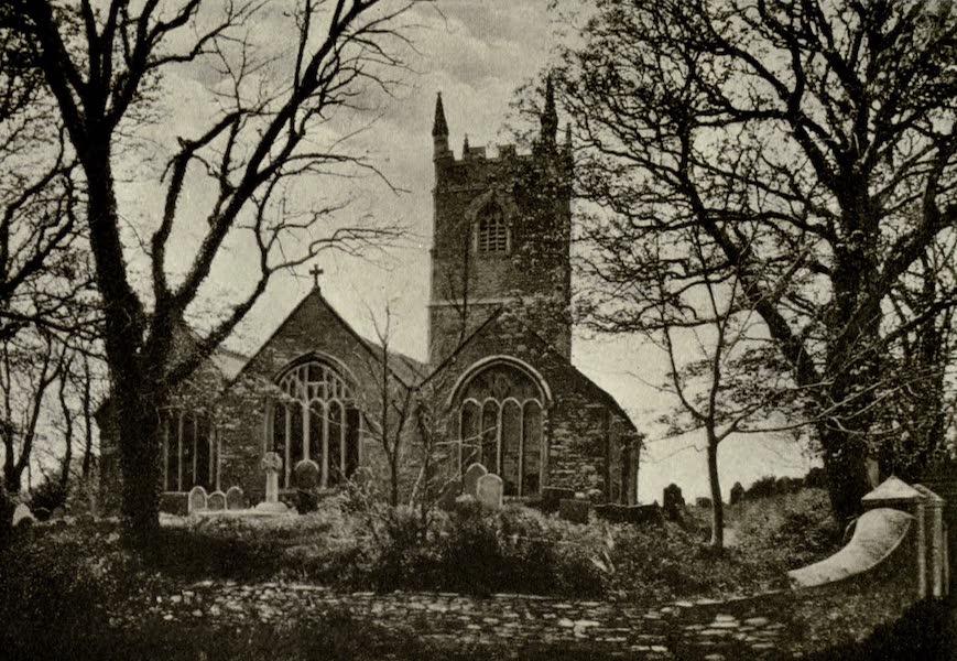 On Old-World Highways - Lansallos Church, Polperro (1914)