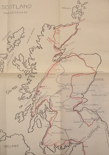On Old-World Highways - Scotland (1914)