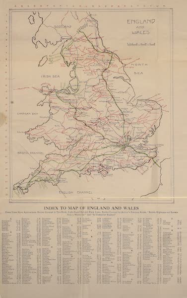 On Old-World Highways - England and Wales (1914)