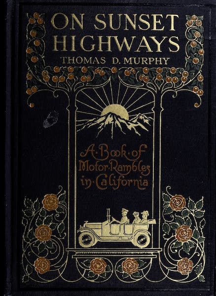 On Sunset Highways - Front Cover (1915)