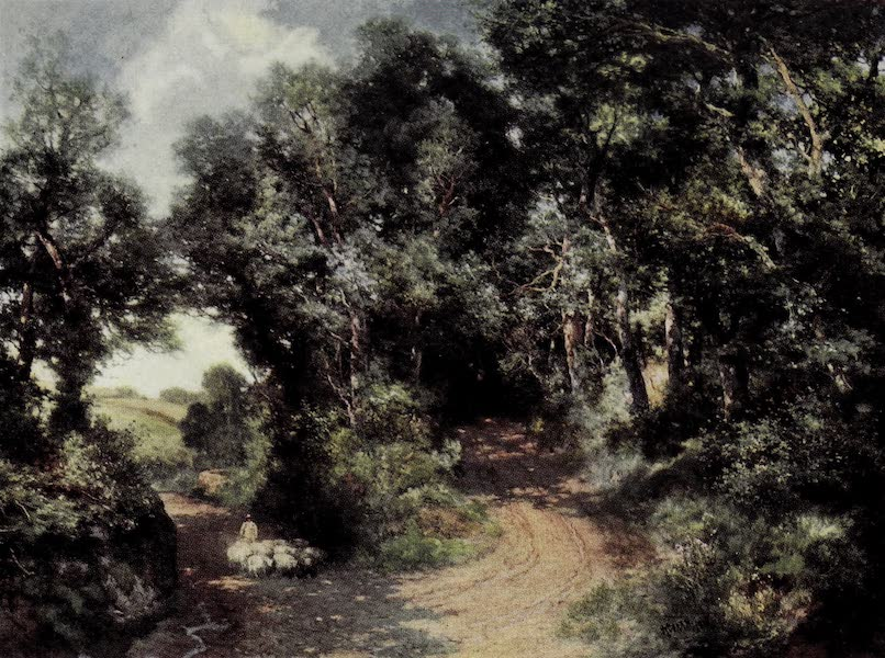 On Sunset Highways - The Fork in the Road (1915)