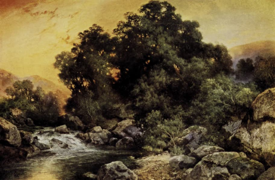 On Sunset Highways - A California Trout Stream (1915)