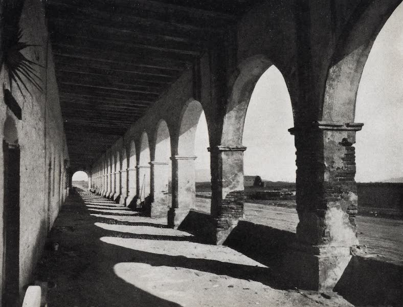 On Sunset Highways - Corridor, San Fernando Mission (1915)