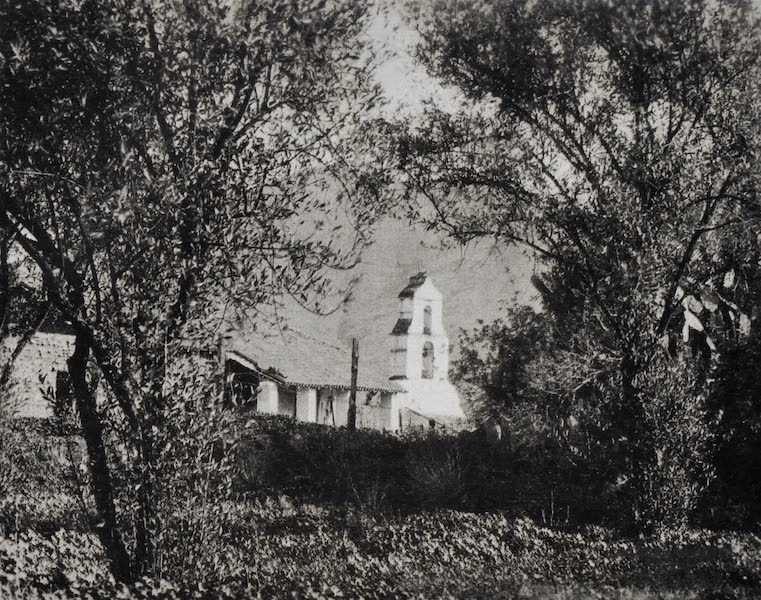 On Sunset Highways - Campanile, Pala Mission (1915)