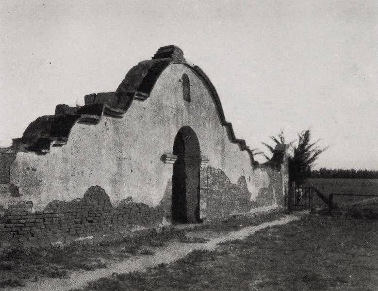 On Sunset Highways - Entrance to San Luis Rey Cemetery (1915)