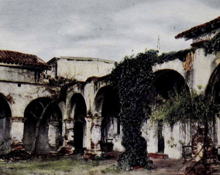 On Sunset Highways - Cloisters, San Juan Capistrano (1915)