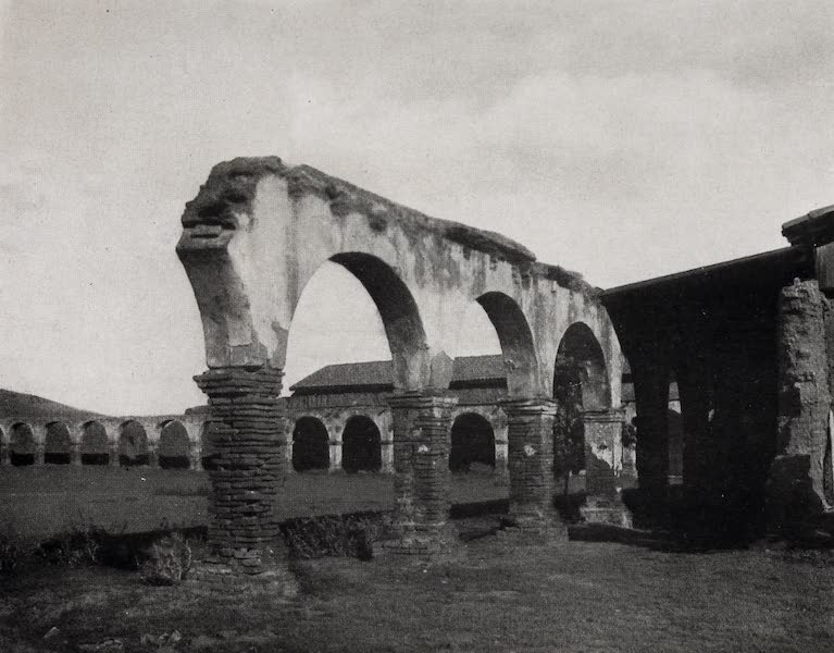 On Sunset Highways - Ruined Cloisters, Capistrano (1915)