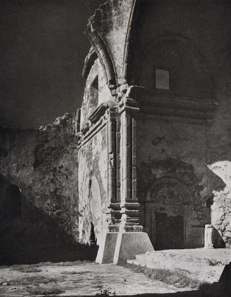 On Sunset Highways - Ruins of Capistrano Church by Moonlight (1915)