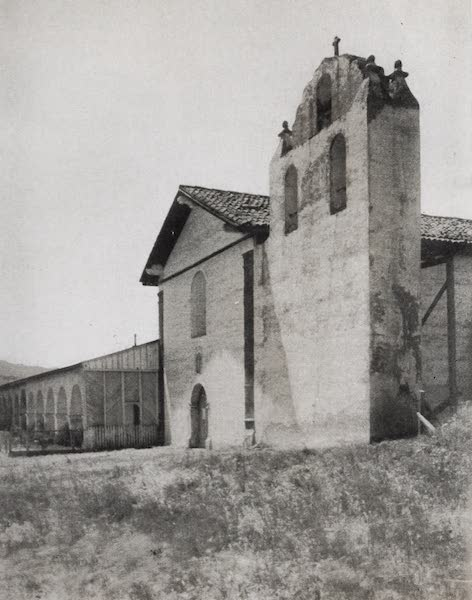 On Sunset Highways - Bell Tower, Santa Ynez (1915)