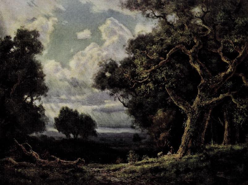 On Sunset Highways - Oaks near Paso Robles (1915)