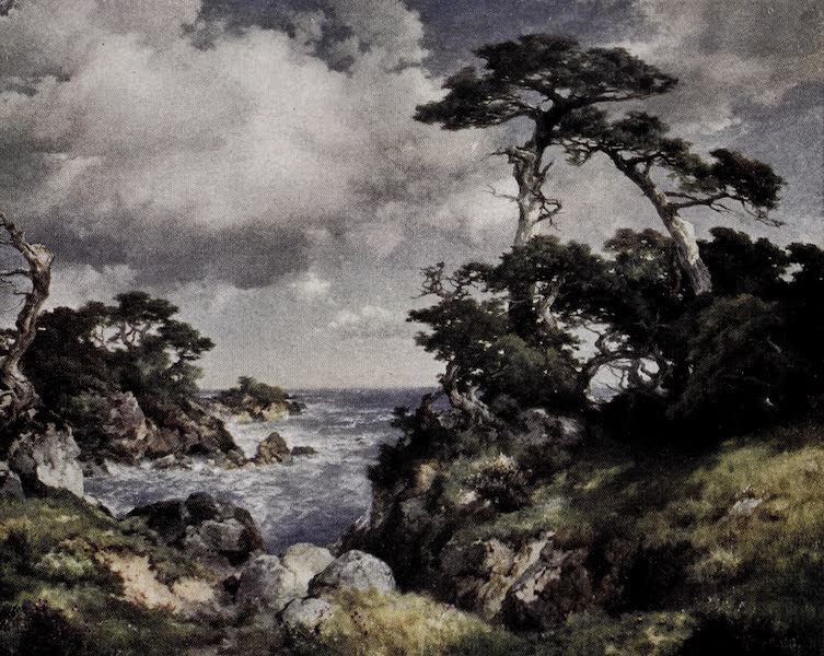 On Sunset Highways - Cypress Point, Monterey (1915)