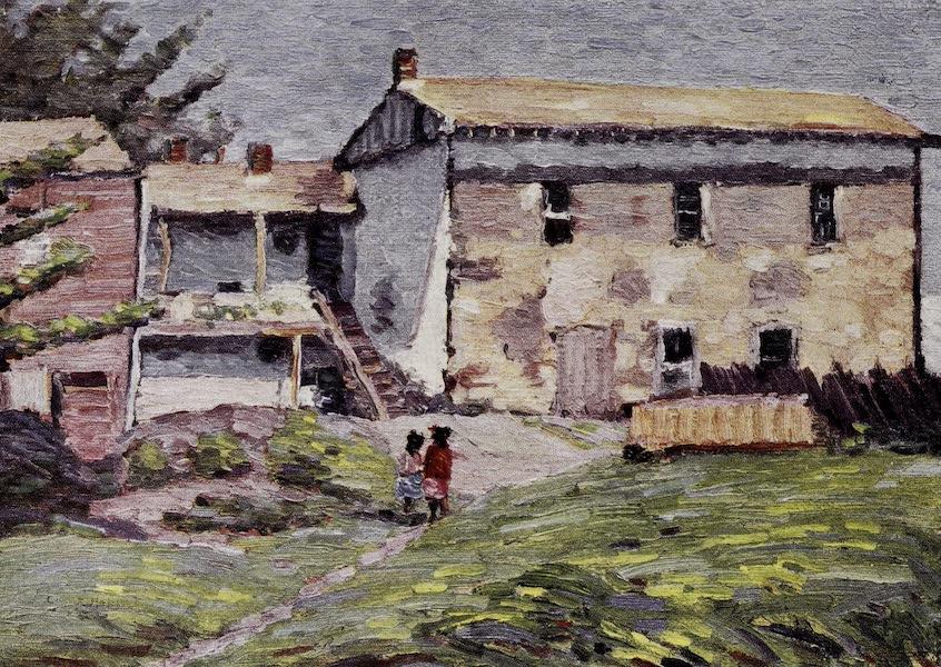 On Sunset Highways - Robert Louis Stevenson House, Monterey (1915)