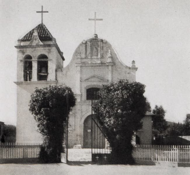 On Sunset Highways - San Carlos Borromeo, Monterey (1915)