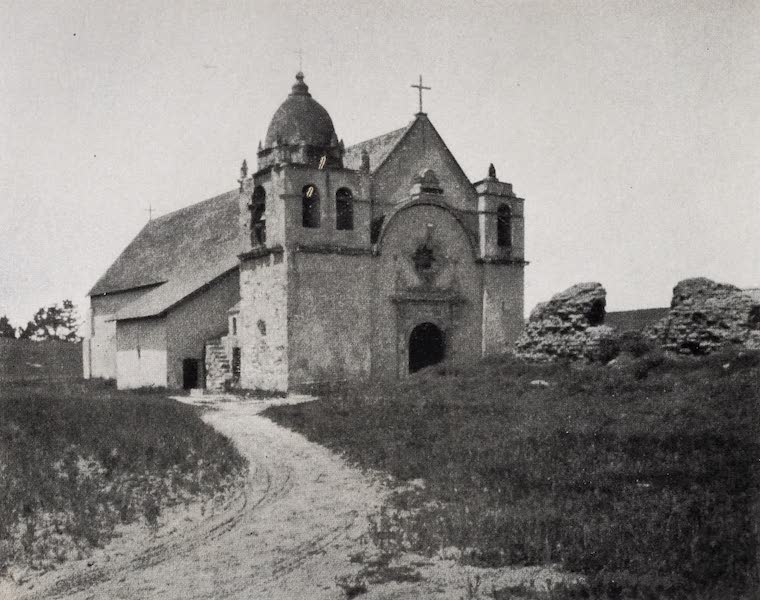 On Sunset Highways - Carmel Mission (1915)