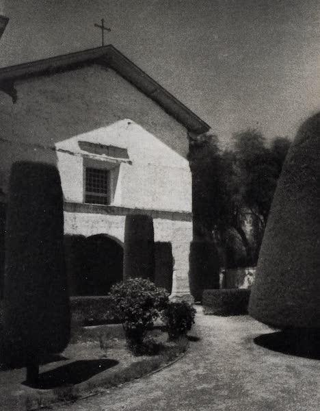 On Sunset Highways - Church and Cemetery, San Juan Bautista (1915)