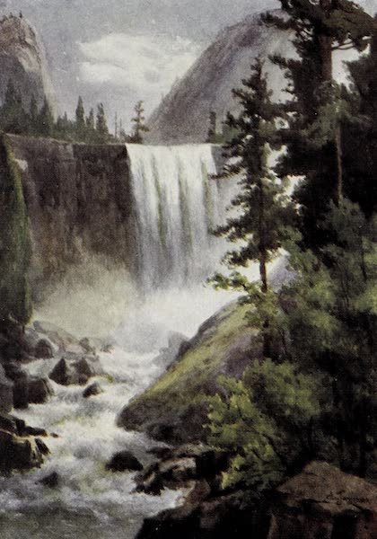 On Sunset Highways - Vernal Falls, Yosemite (1915)