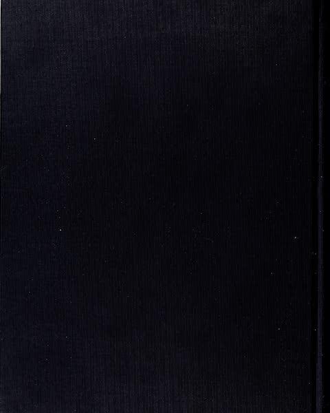 On Sunset Highways - Back Cover (1915)