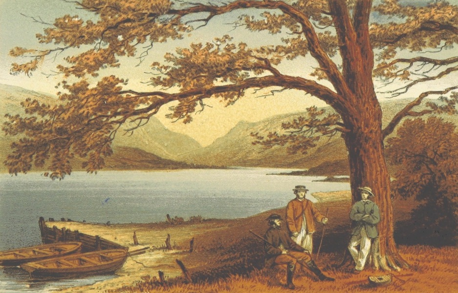 On the Mountain - The Lake of the Pleasant Retreat, Llyn Mwyngl; from Tal-Y-Llyn (1862)