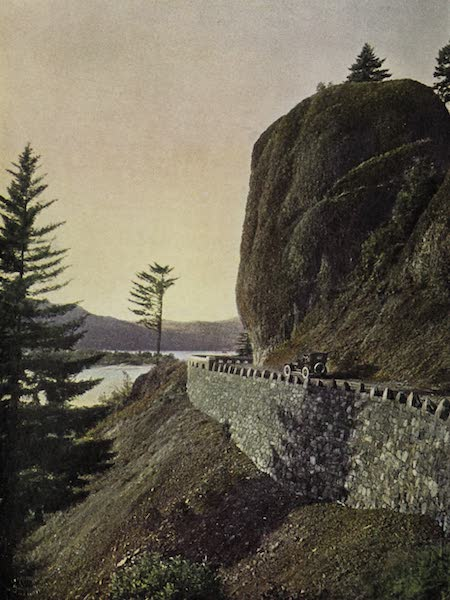 Oregon, the Picturesque - Bishop's Cap, Columbia Highway (1917)