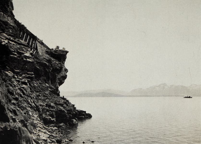 Oregon, the Picturesque - Cave Rock, Lake Tahoe (1917)