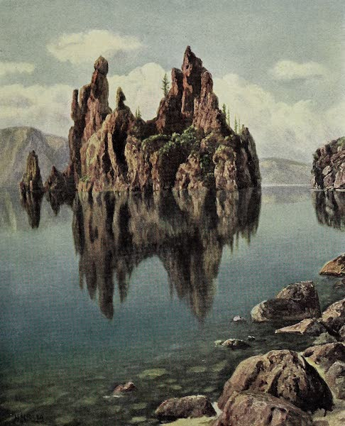 Oregon, the Picturesque - Ship Rock, Crater Lake (1917)