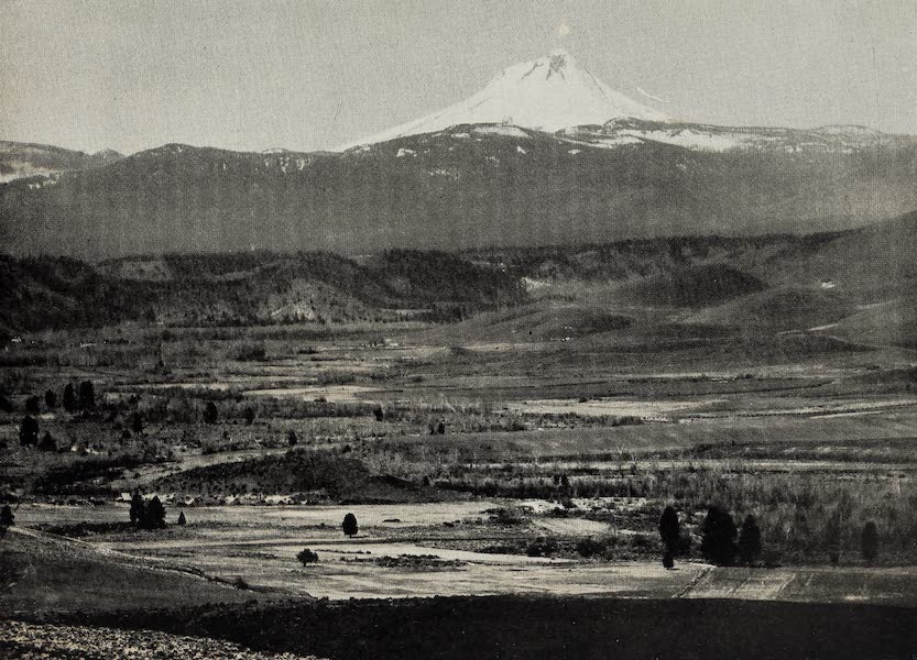 Oregon, the Picturesque - Mt. Hood from Tygh Valley (1917)