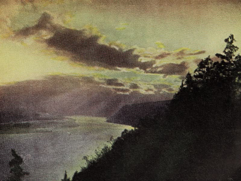 Oregon, the Picturesque - Sunset on the Columbia (1917)