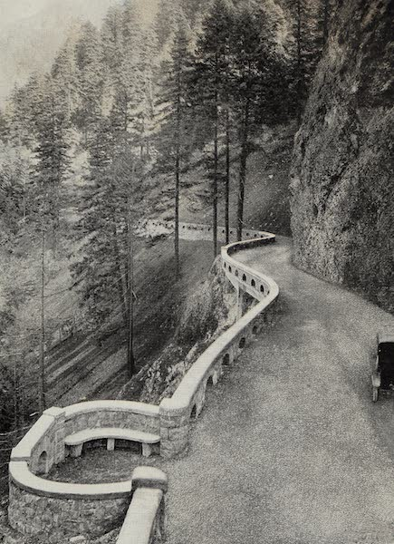Oregon, the Picturesque - Around Tooth Mountain, Columbia Highway (1917)