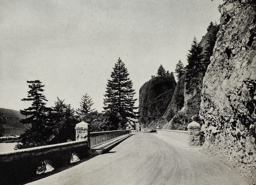 Oregon, the Picturesque - Sheppard's Bridge from Beneath-columbia Highway (1917)