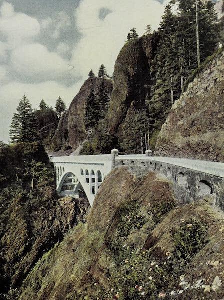 Oregon, the Picturesque - Shepperd's Bridge, Columbia Highway (1917)