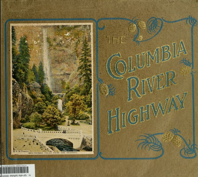 Oregon's Famous Columbia River Highway - Front Cover (1920)