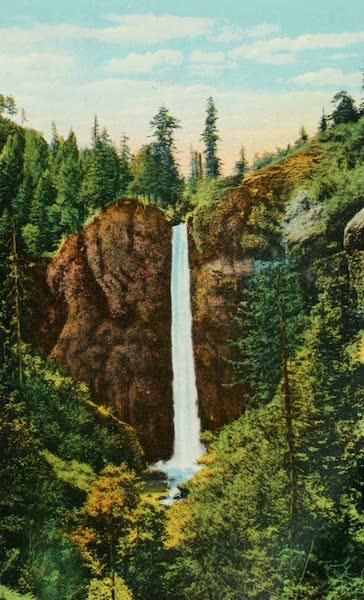 Oregon's Famous Columbia River Highway - Latourelle Falls (1920)