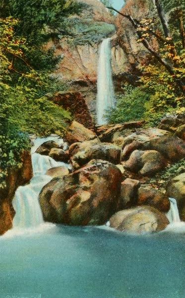 Oregon's Famous Columbia River Highway - McCord Creek Falls (1920)