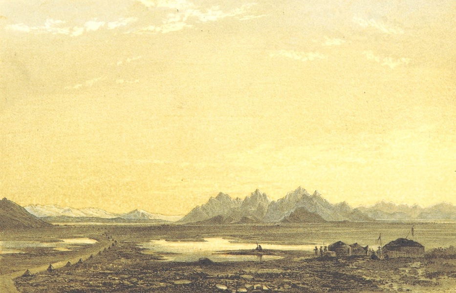 Oriental and Western Siberia - Arkat Mountains and Salt Lakes, Kirghis Steppe (1858)