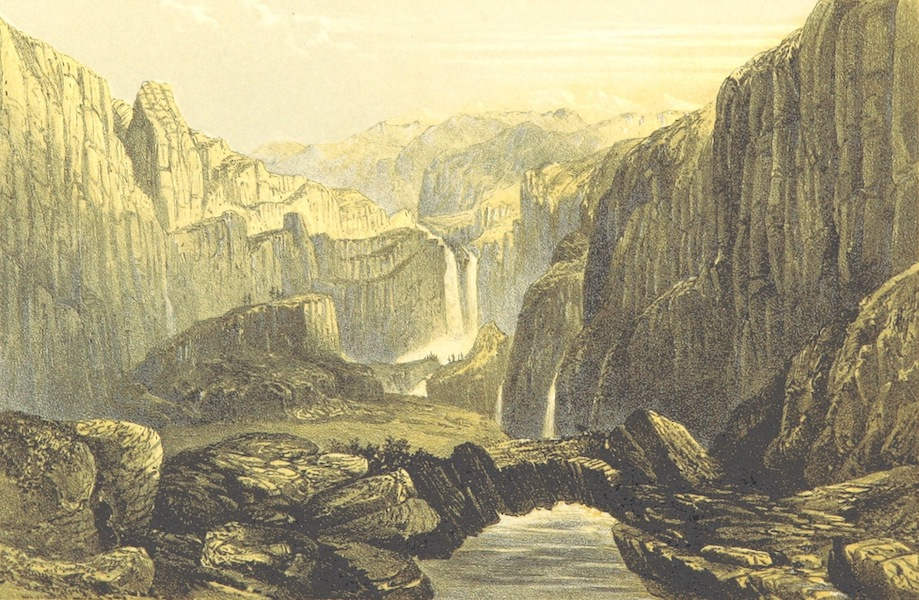 Oriental and Western Siberia - Ghlider a Gar a Ghi, Actou Mountains, Chinese Tartary (1858)