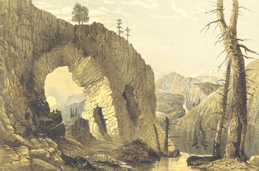 Oriental and Western Siberia - A Natural Arch on Nouk-a-Daban, Oriental Siberia (1858)