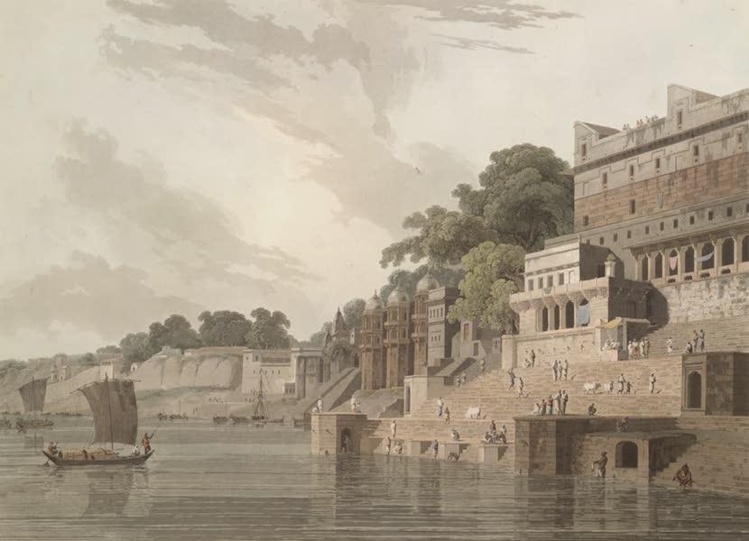 Oriental Scenery Vol. 1 - Dusasumade Gaut, at Benares (1795)