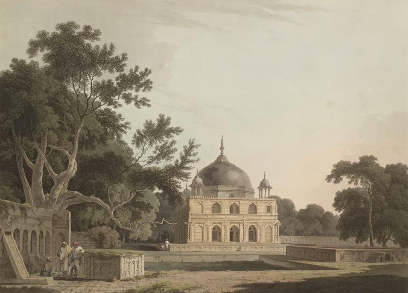 Oriental Scenery Vol. 1 - Mausoleum of Sultan Chusero, near Allahabad (1795)