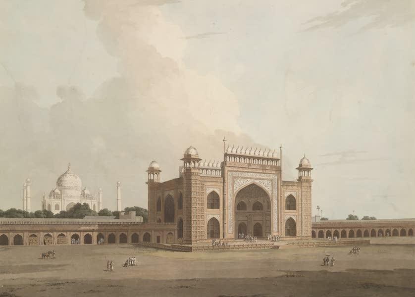 Oriental Scenery Vol. 1 - The Taje Mahal, at Agra (1795)
