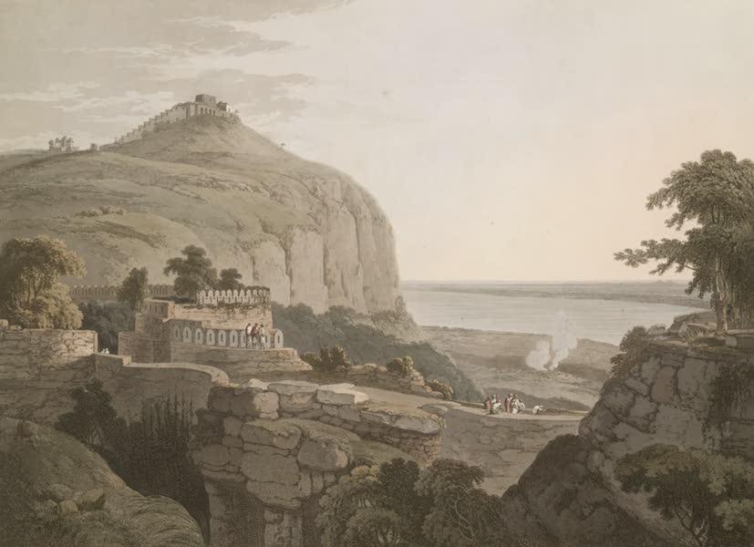 Oriental Scenery Vol. 1 - N.W. View of Rotas Ghur, Bahar (1795)