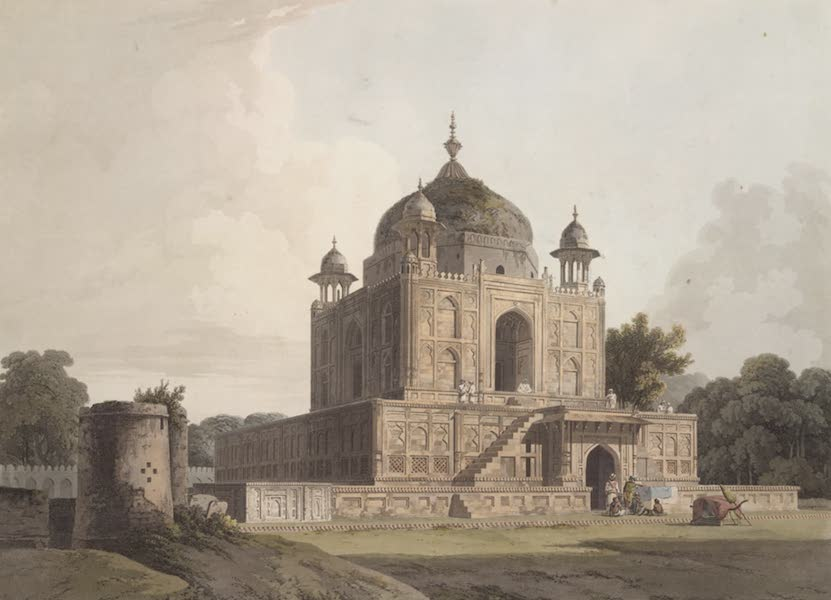 Oriental Scenery Vol. 1 - Musoleum of Sultan Purveiz, near Allahabad (1795)