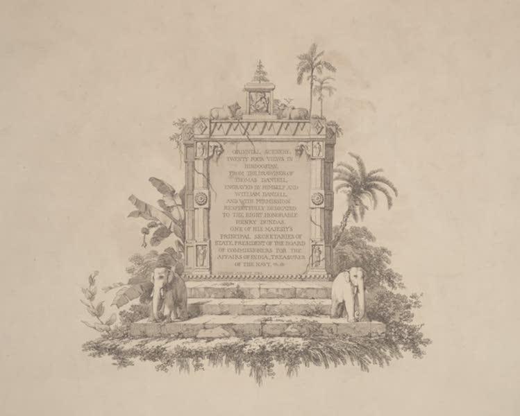 Oriental Scenery Vol. 2 - Title Page - Oriental Scenery Volume II (1797) (1797)