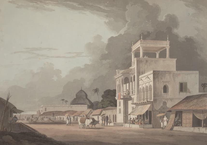 Oriental Scenery Vol. 2 - View on the Chitpore Road, Calcutta (1797)
